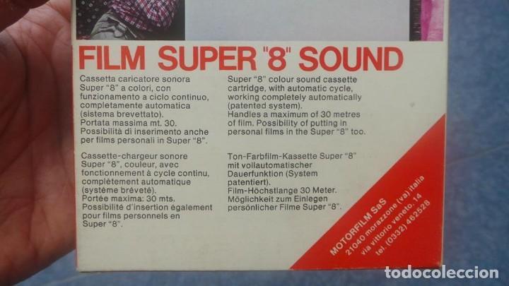 Cine: SPAZIALE–MOTORFILM-FILM SUPER 8 SOUND ORIGINAL,CORTOMETRAJE SUPER 8 MM VINTAGE FILM Nº 12 - Foto 11 - 129327603