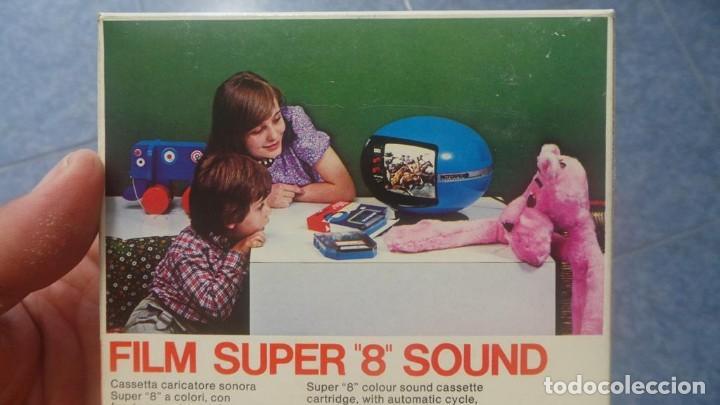 Cine: SPAZIALE–MOTORFILM-FILM SUPER 8 SOUND ORIGINAL,CORTOMETRAJE SUPER 8 MM VINTAGE FILM Nº 12 - Foto 12 - 129327603