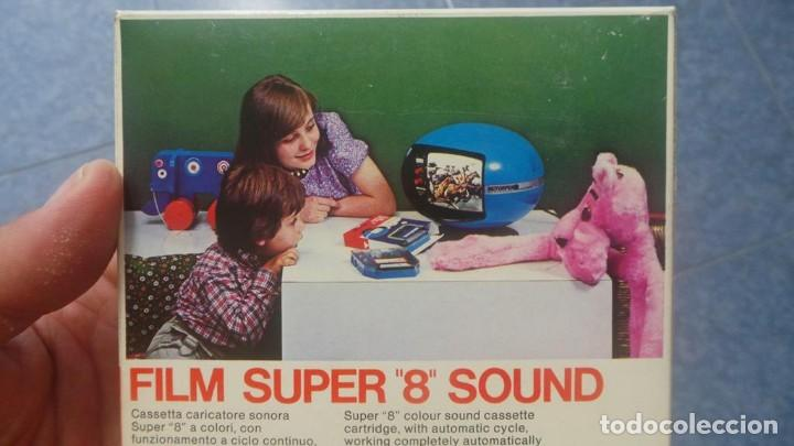 Cine: SPAZIALE–MOTORFILM-FILM SUPER 8 SOUND ORIGINAL,CORTOMETRAJE SUPER 8 MM VINTAGE FILM Nº 12 - Foto 13 - 129327603