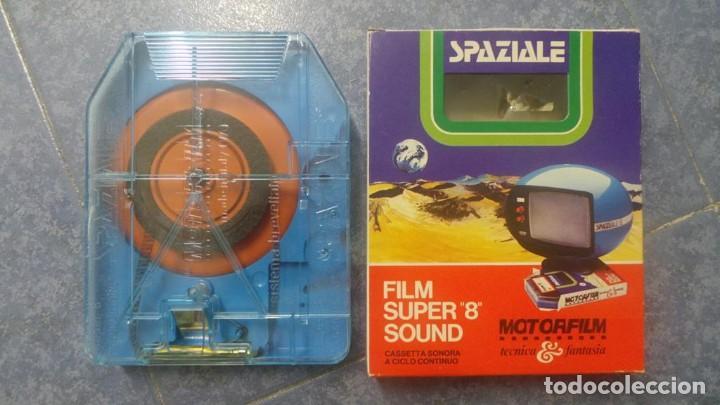 Cine: SPAZIALE–MOTORFILM-FILM SUPER 8 SOUND ORIGINAL,CORTOMETRAJE SUPER 8 MM VINTAGE FILM Nº 12 - Foto 17 - 129327603