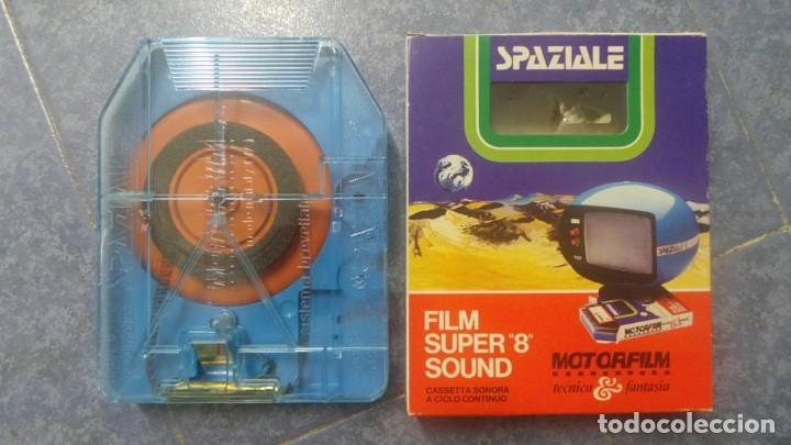 Cine: SPAZIALE–MOTORFILM-FILM SUPER 8 SOUND ORIGINAL,CORTOMETRAJE SUPER 8 MM VINTAGE FILM Nº 12 - Foto 18 - 129327603