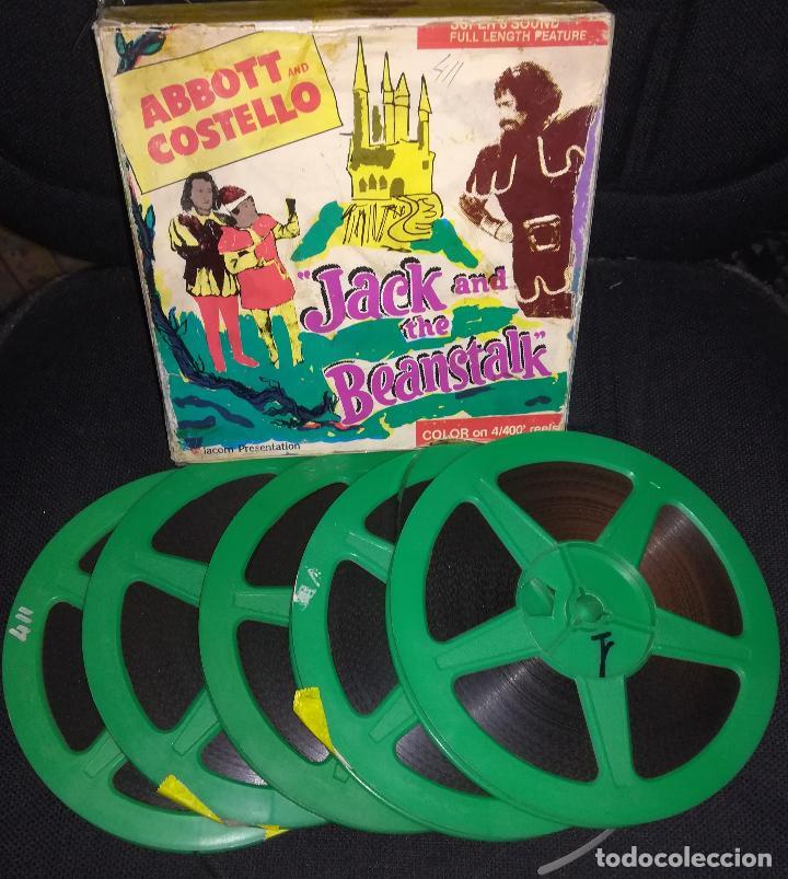 Cine: Super 8 ++ Jack y las judias mágicas ++ Largometraje con Abbott y Costello - Foto 2 - 129484671