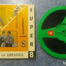 Cine: STAN LAUREL Y OLIVER HARDY(EL GORDO Y EL FLACO) DOS BUENOS CHICOS-PELÍCULA-SUPER 8 MM,VINTAGE. Lote 130048571