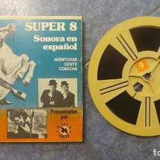 Cine: JAIMITO(LARRY SEMON )CAMARADAS A BORDO PELÍCULA-SUPER 8 MM RETRO-VINTAGE FILM. Lote 130692349