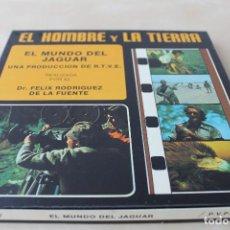 Cine: SÚPER 8: RODRÍGUEZ DE LA FUENTE (EL HOMBRE Y LA TIERRA:EL MUNDO DEL JAGUAR) RTVE. AÑOS 70'S. Lote 130720624
