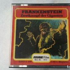 Cine: FRANKENSTEIN Y EL GIGANTE REVUE FILM NUMERO 8731 BLANCO Y NEGRO SONORA. Lote 131064892