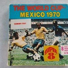 Cine: PELICULA SUPER 8 THE WORLD CUP - MEXICO 1970 - GERMANY / ITALIA. Lote 131168628