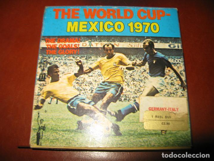 PARTIDO FUTBOL COPA DEL MUNDO MEXICO 1970 GERMANY ITALIA (Cine - Películas - Super 8 mm)
