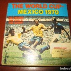 Cine: PARTIDO FUTBOL COPA DEL MUNDO MEXICO 1970 GERMANY ITALIA. Lote 131356714