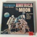 Cine: AMERICA ON THE MOON - APOLLO 11 - CASTLE FILMS - SUPER 8 MM. Lote 157873400