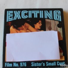 Cine: PELICULA XXX SEX EXCITING, SUPER 8, SISTER´S SAMALL CUNT, 1979 DINAMARCA. Lote 134102290