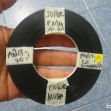 Cine: ANTIGUO ROLLO DE PELÍCULA FILMACIONES AMATEUR,PARIS Y SUS MONUMENTOS,SUPER 8 MM, RETRO Nº: 3. Lote 134585882