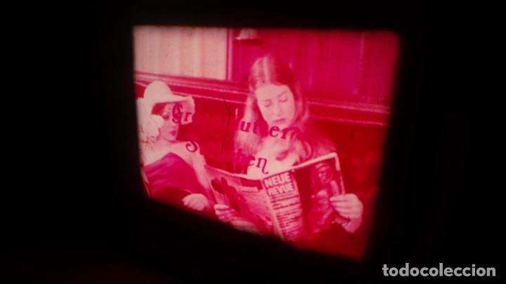 Cine: SUPER 8 MM # 70 RETRO VINTAGE FILM ADULT MOVIE SWEDISH GIRLS ,SUPER 8 ,COLOR , MUDO - Foto 2 - 135074418