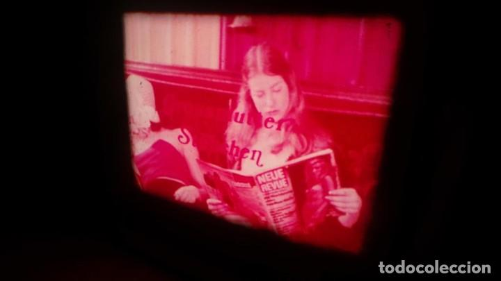 Cine: SUPER 8 MM # 70 RETRO VINTAGE FILM ADULT MOVIE SWEDISH GIRLS ,SUPER 8 ,COLOR , MUDO - Foto 3 - 135074418
