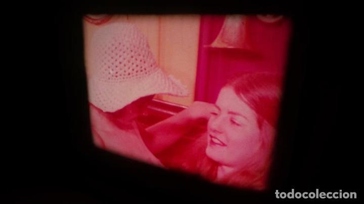 Cine: SUPER 8 MM # 70 RETRO VINTAGE FILM ADULT MOVIE SWEDISH GIRLS ,SUPER 8 ,COLOR , MUDO - Foto 12 - 135074418