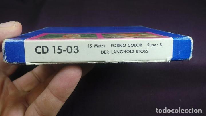 Cine: SUPER 8 MM- DER LANGHOLZ . STOSS RETRO VINTAGE FILM ADULT MOVIE - Foto 3 - 136107990
