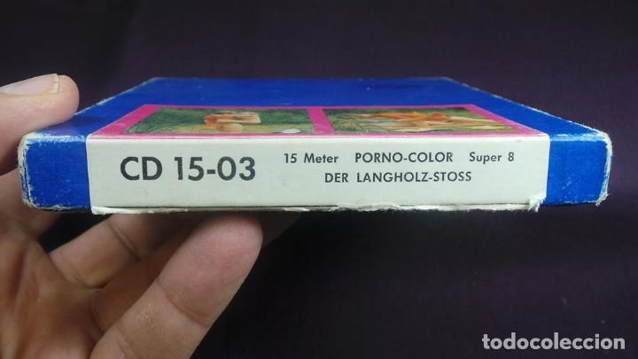 Cine: SUPER 8 MM- DER LANGHOLZ . STOSS RETRO VINTAGE FILM ADULT MOVIE - Foto 4 - 136107990