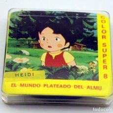 Cine: SUPER 8 - EL MUNDO PLATEADO DEL AMU - HEIDI - DIBUJOS ANIMADOS. Lote 136223134