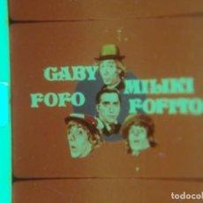 Cine: GABY, FOFO MILIKI Y FOFITO . 2 CAPITULOS EN SUPER 8 MM DE LA SERIE DE FILMS SUPER 8 LOS PADRINOS. Lote 137129358