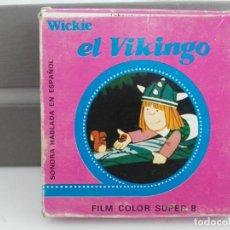 Cine: ANTIGUA PELICULA EN CAJA DE WICKIE EL VIKINGO. Lote 138157062