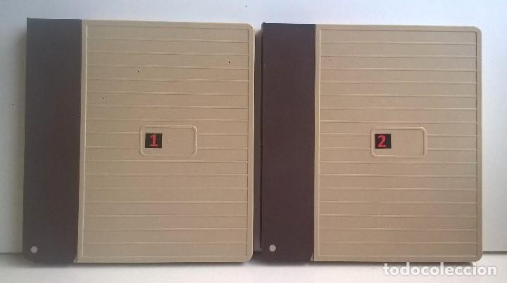 DOS CAJAS VINTAGES (VACÍAS) PARA PELÍCULAS SUPER 8 MM - CAPACIDAD 180 METROS - AÑOS 1970 (Cine - Películas - Super 8 mm)