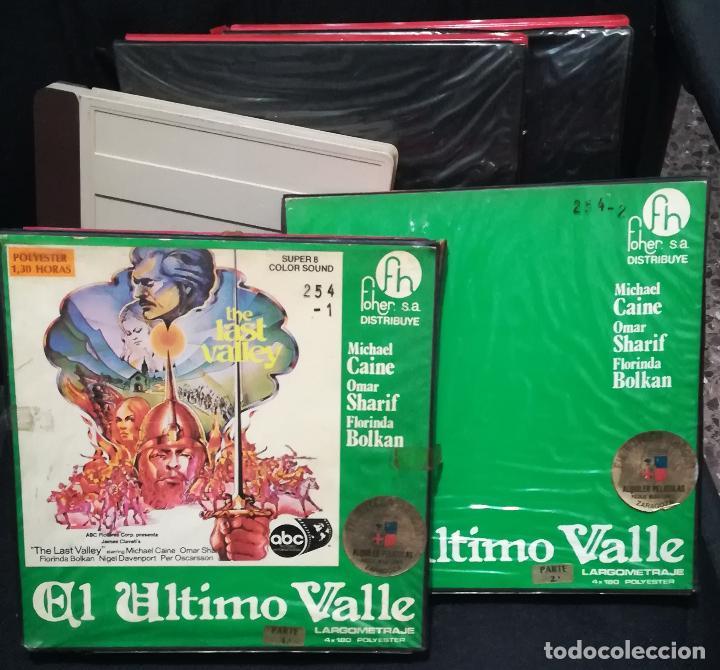 SUPER 8 ++ EL ÚLTIMO VALLE ++ LARGOMETRAJE MICHAEL CAINE (Cine - Películas - Super 8 mm)