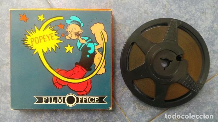 POPEYE CULTIVADOR DE ESPINACAS CORTO-DIBUJOS ANIMADOS SUPER 8 MM VINTAGE FILM (Cine - Películas - Super 8 mm)