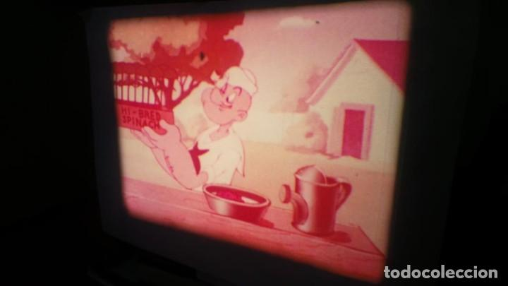Cine: POPEYE CULTIVADOR DE ESPINACAS CORTO-DIBUJOS ANIMADOS SUPER 8 MM VINTAGE FILM - Foto 8 - 139536570