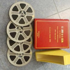 Cine: EL LIBRO DE LA SELVA-PELÍCULA-LARGOMETRAJE-SUPER 8 MM-4 X 180 MTS. RETRO-VINTAGE FILM. Lote 139537134