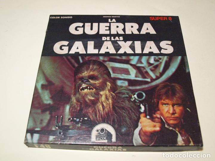 STAR WARS - LA GUERRA DE LAS GALAXIAS - SUPER 8 - ESCENAS SELECTAS - COLOR Y SONIDO (Cine - Películas - Super 8 mm)