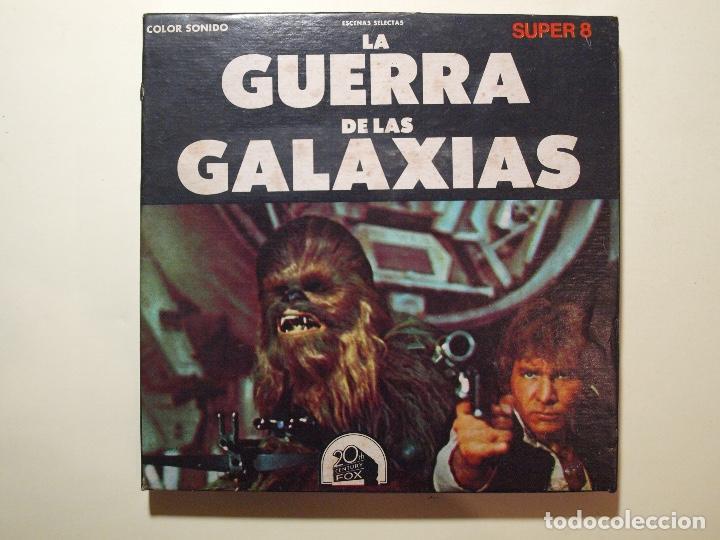 Cine: STAR WARS - LA GUERRA DE LAS GALAXIAS - SUPER 8 - ESCENAS SELECTAS - COLOR Y SONIDO - Foto 2 - 147504546