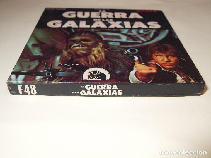 Cine: STAR WARS - LA GUERRA DE LAS GALAXIAS - SUPER 8 - ESCENAS SELECTAS - COLOR Y SONIDO - Foto 3 - 147504546