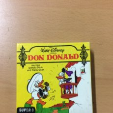 Cine: DON DONALD SÚPER 8. Lote 141234252