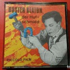 Cine: PELICULA SUPER 8 S.W. BUSTER KEATON DER HUFSCHMIED - 33 M PICCOLO FILM. Lote 141686802