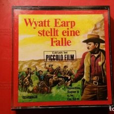 Cine: PELICULA DEL OESTE SUPER 8 S.W. WYATT EARP STELLT EINE FALLE - 55 M PICCOLO FILM. Lote 141709090