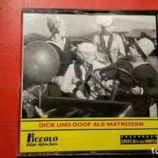 Cine: PELICULA SUPER 8 S.W. DICK UND DOOF ALS MATROSEN - EL GORDO Y EL FLACO - 50 M PICCOLO FILM. Lote 141711014