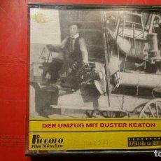 Cine: PELICULA SUPER 8 S.W. BUSTER KEATON DER UMZUG MIT - 50 M PICCOLO FILM. Lote 141711378