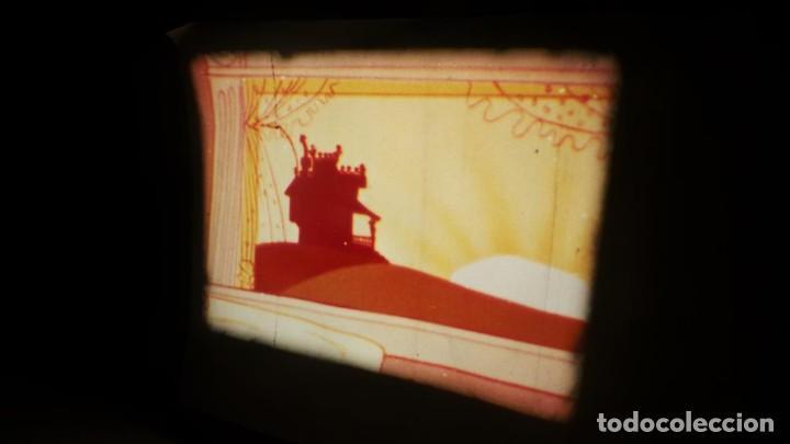 Cine: BOBINA TRES CORTOMETRAJES CLASICOS-DIBUJOS ANIMADOS SUPER 8 MM VINTAGE FILM Nº 362 - Foto 8 - 142020238