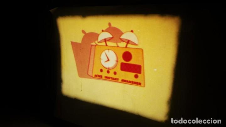 Cine: BOBINA TRES CORTOMETRAJES CLASICOS-DIBUJOS ANIMADOS SUPER 8 MM VINTAGE FILM Nº 362 - Foto 12 - 142020238