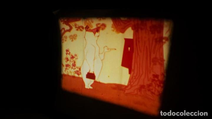 Cine: BOBINA TRES CORTOMETRAJES CLASICOS-DIBUJOS ANIMADOS SUPER 8 MM VINTAGE FILM Nº 362 - Foto 16 - 142020238
