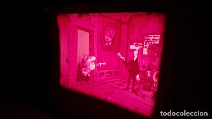 Cine: BOBINA TRES CORTOMETRAJES CLASICOS-DIBUJOS ANIMADOS SUPER 8 MM VINTAGE FILM Nº 362 - Foto 36 - 142020238