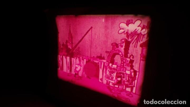 Cine: BOBINA TRES CORTOMETRAJES CLASICOS-DIBUJOS ANIMADOS SUPER 8 MM VINTAGE FILM Nº 362 - Foto 39 - 142020238