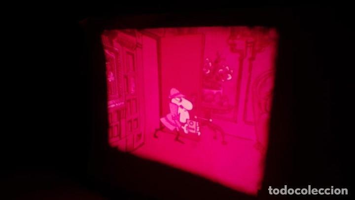 Cine: BOBINA TRES CORTOMETRAJES CLASICOS-DIBUJOS ANIMADOS SUPER 8 MM VINTAGE FILM Nº 362 - Foto 41 - 142020238