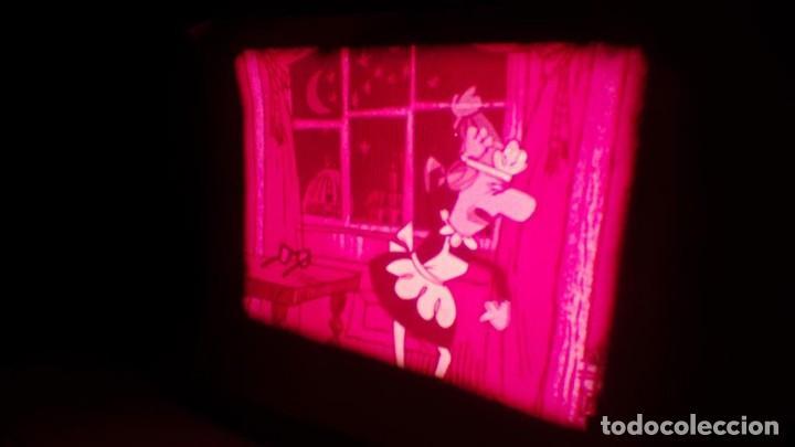Cine: BOBINA TRES CORTOMETRAJES CLASICOS-DIBUJOS ANIMADOS SUPER 8 MM VINTAGE FILM Nº 362 - Foto 52 - 142020238