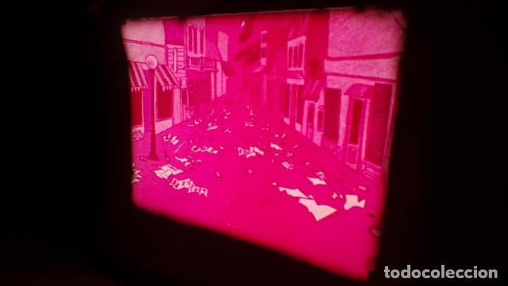 Cine: BOBINA TRES CORTOMETRAJES CLASICOS-DIBUJOS ANIMADOS SUPER 8 MM VINTAGE FILM Nº 362 - Foto 62 - 142020238