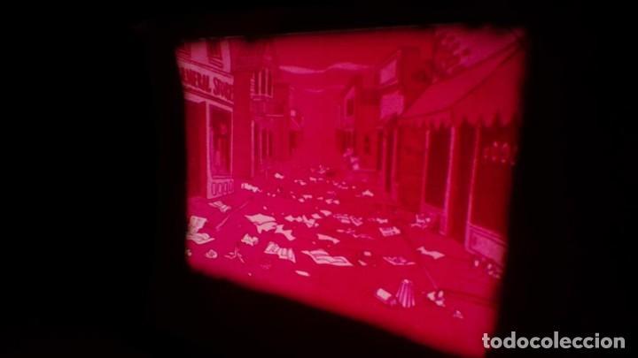 Cine: BOBINA TRES CORTOMETRAJES CLASICOS-DIBUJOS ANIMADOS SUPER 8 MM VINTAGE FILM Nº 362 - Foto 68 - 142020238