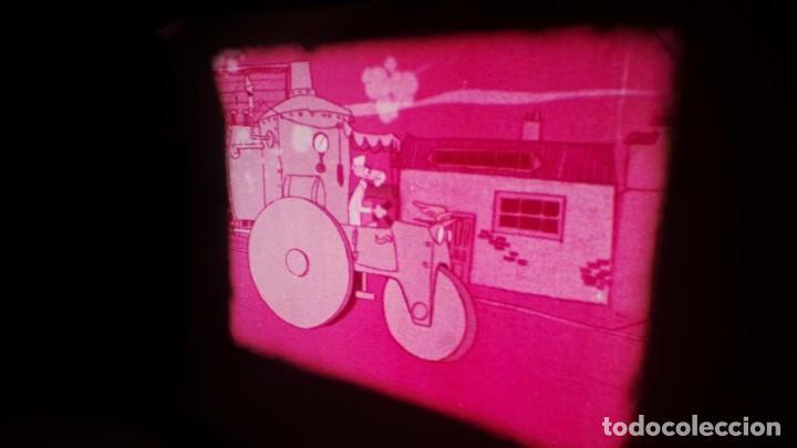 Cine: BOBINA TRES CORTOMETRAJES CLASICOS-DIBUJOS ANIMADOS SUPER 8 MM VINTAGE FILM Nº 362 - Foto 75 - 142020238