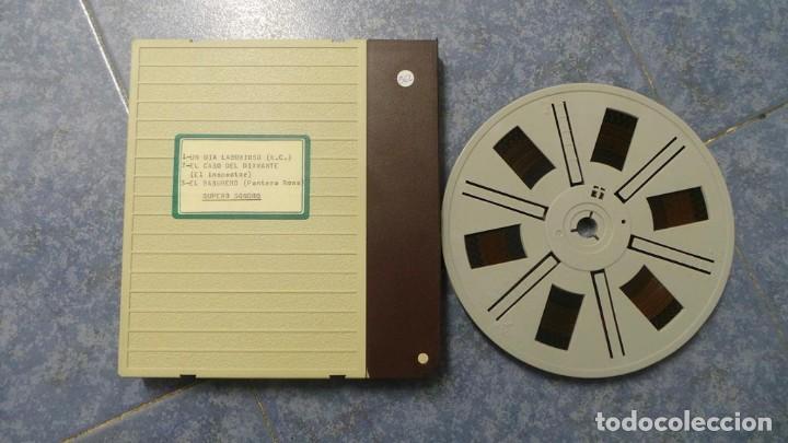 Cine: BOBINA TRES CORTOMETRAJES CLASICOS-DIBUJOS ANIMADOS SUPER 8 MM VINTAGE FILM Nº 362 - Foto 85 - 142020238