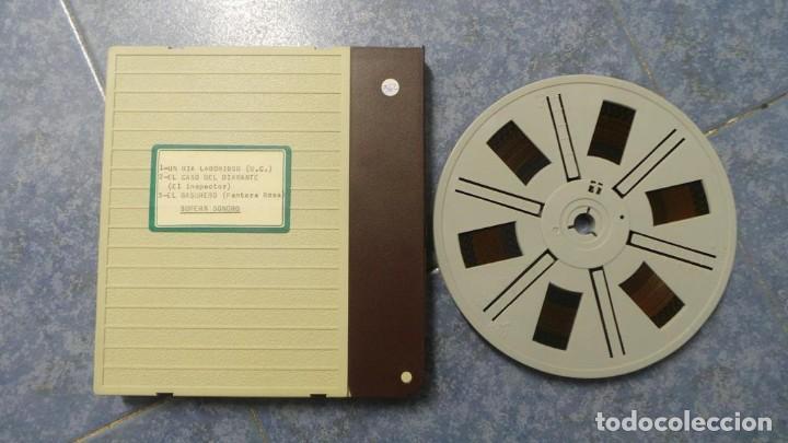 Cine: BOBINA TRES CORTOMETRAJES CLASICOS-DIBUJOS ANIMADOS SUPER 8 MM VINTAGE FILM Nº 362 - Foto 86 - 142020238