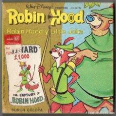 Cine: SUPER 8 ++ ROBIN HOOD Y LITLE JOHN ++ 60 METROS. Lote 143626086